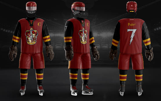 Hockey Uniform Gryffindor