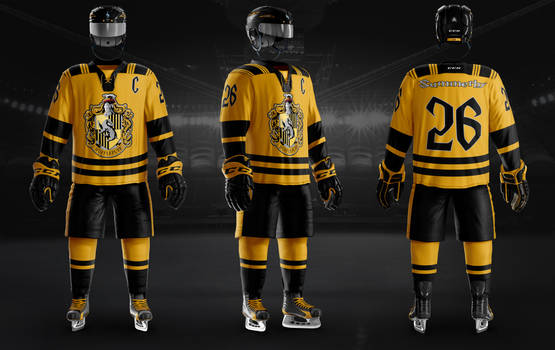 Hockey Uniform Hufflepuff