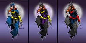 Batgirl Color Combo