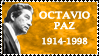 Octavio Paz Stamp by k-nelo