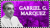 Gabriel G. Marquez Stamp by k-nelo