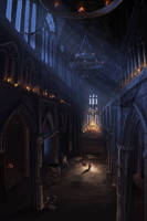 dark church by mrainbowwj