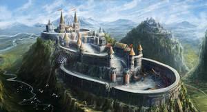 Castle by mrainbowwj