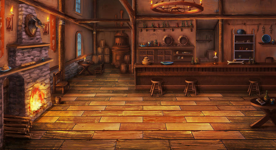tavern BG by mrainbowwj on DeviantArt