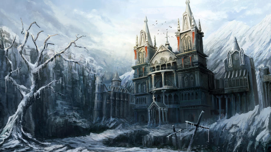 AAR PERISNO - Página 2 Church_in_the_snow_by_mrainbowwj-d5k1f5m