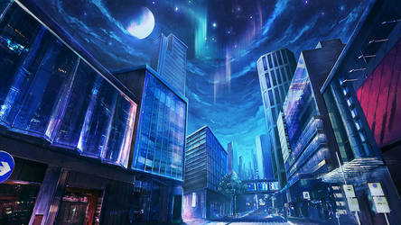 The other conner of city: night