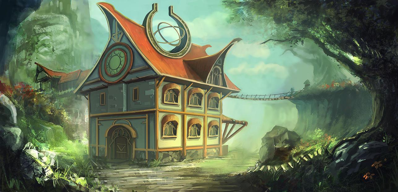 A Fantasy House by mrainbowwj ...