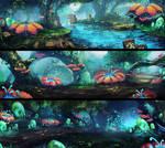 level design: egg forest