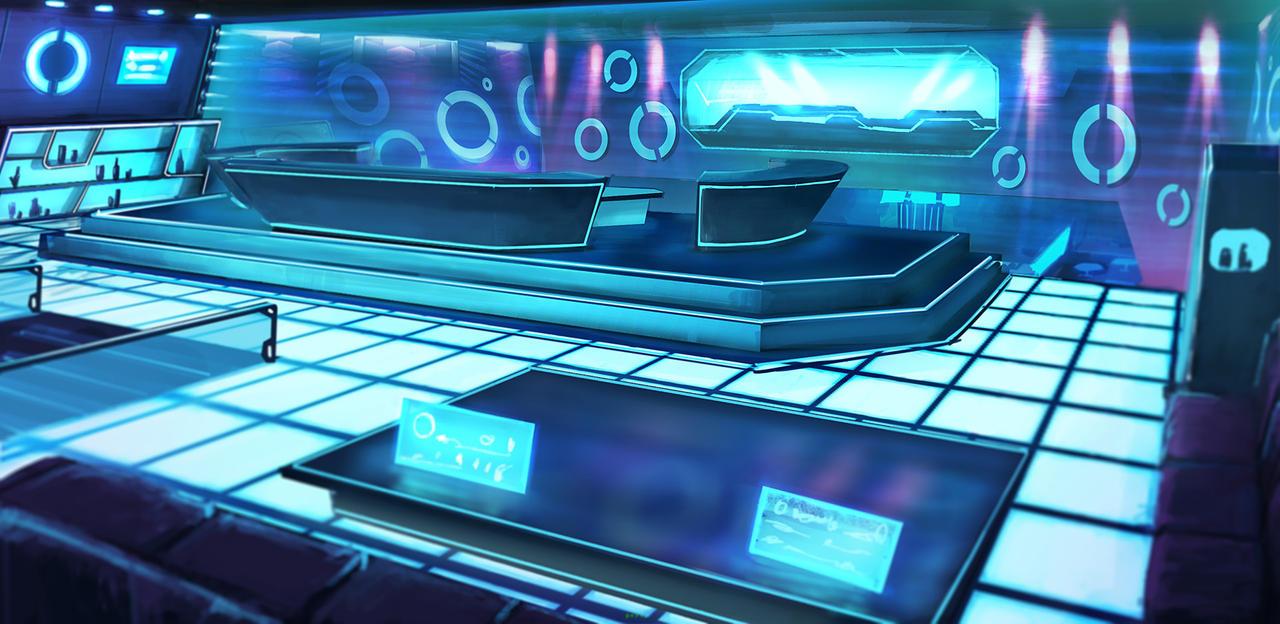 Sci-fi nightclub p3 by mrainbowwj