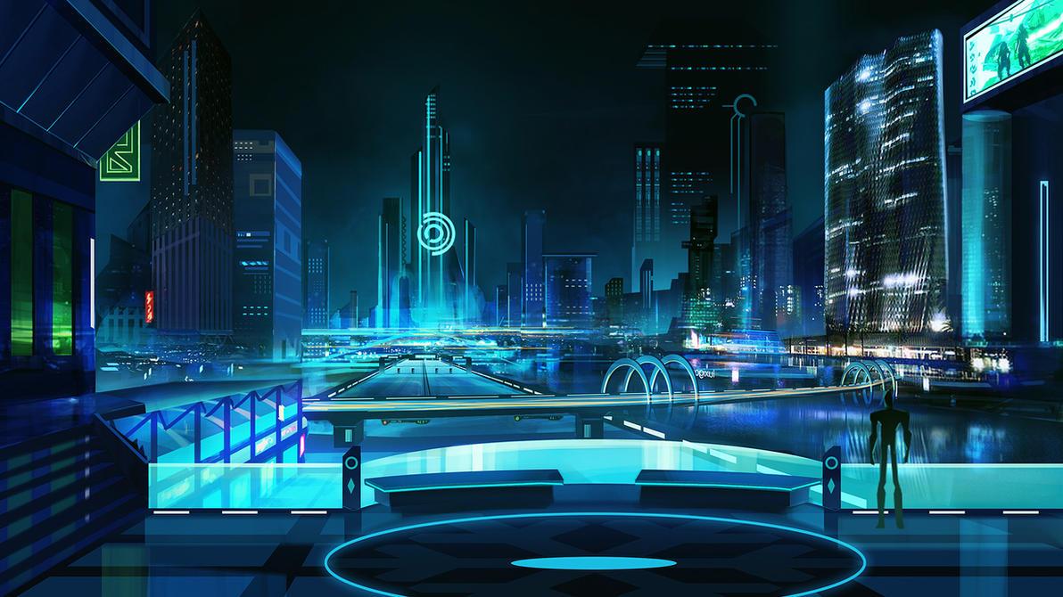 Liberaciones Tecnológicas [Habilidades]  Sci_fi_city_by_mrainbowwj-d6whh09