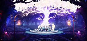 Holy Tree by mrainbowwj
