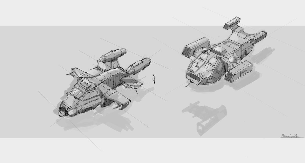 20140902_aircraft_sketch by mrainbowwj