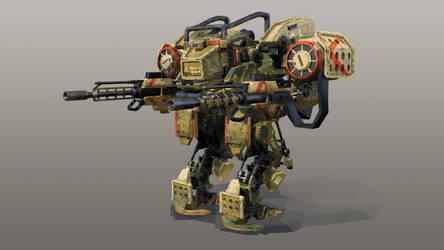 Code 51 Mech design A-1 by mrainbowwj