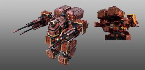 Code 51 Mech design A-2 by mrainbowwj
