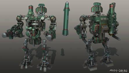 Code 51 Mech design B-2 by mrainbowwj