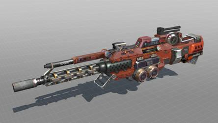 Code 51 Weapon design 1 by mrainbowwj