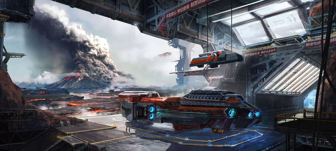 Ship Base by mrainbowwj