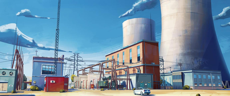 Power Station 02 by mrainbowwj