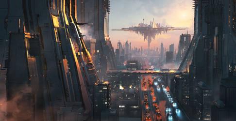 20201109 scifi city