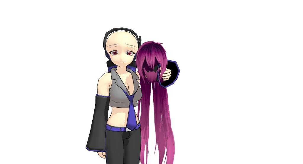 MMD Kasumi Hair DL by 2234083174