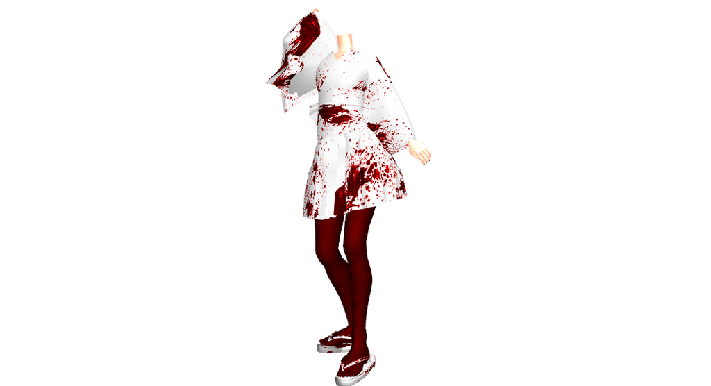Blood Kimono OUtfit DL By 2234083174 On DeviantArt