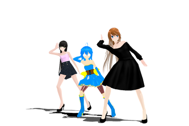 [MMD PhysicsTest]Nee-Skylar Tami and Flee-Video- by 2234083174