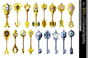 MMD Lucy's Celestial Spirit Keys Request