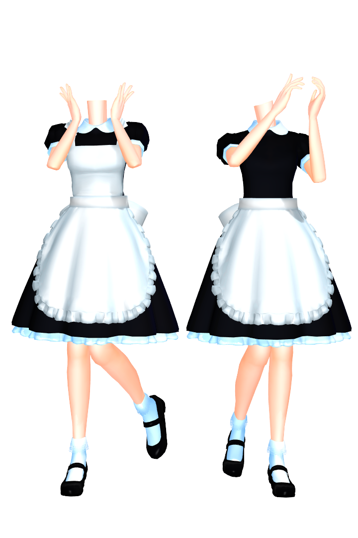 sims 3 maid clothes