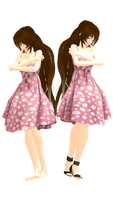 MMD Natalie WIP 3 [For Can't Stop the Rain Video]