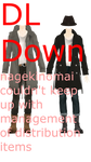 MMD DL Series Headless Trench Coat Dudes DL Down