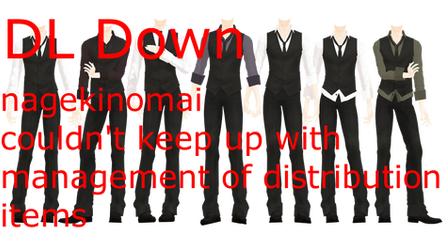 MMD DL Series More Formal Suits DL Down