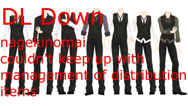 MMD DL Series More Formal Suits Down