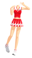 MMD Cheerleading Idol Master Outfit