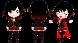 Rummy(Chibi) Ruby Rose School Uni -Ref- by 2234083174