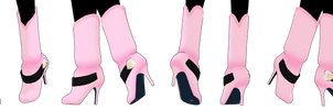 MMD Cute Short Boots DL [P2U] 30 Points by 2234083174