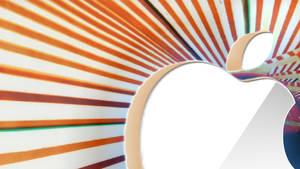 Apple logo Orange