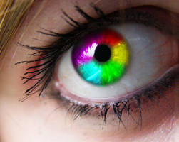 See The World In Rainbow by Zayix
