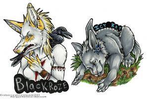 Badges by MorgueMonster