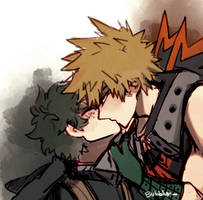 Kiss Day Bakudeku by Namahero