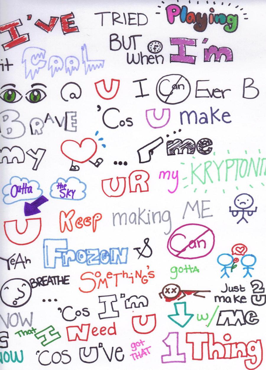 One Direction Lyrics Drawings Tumblr | Amazing Wallpapers