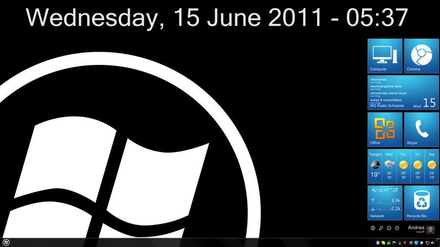 Desktop Screenshot June 2011 by OmbraSilente
