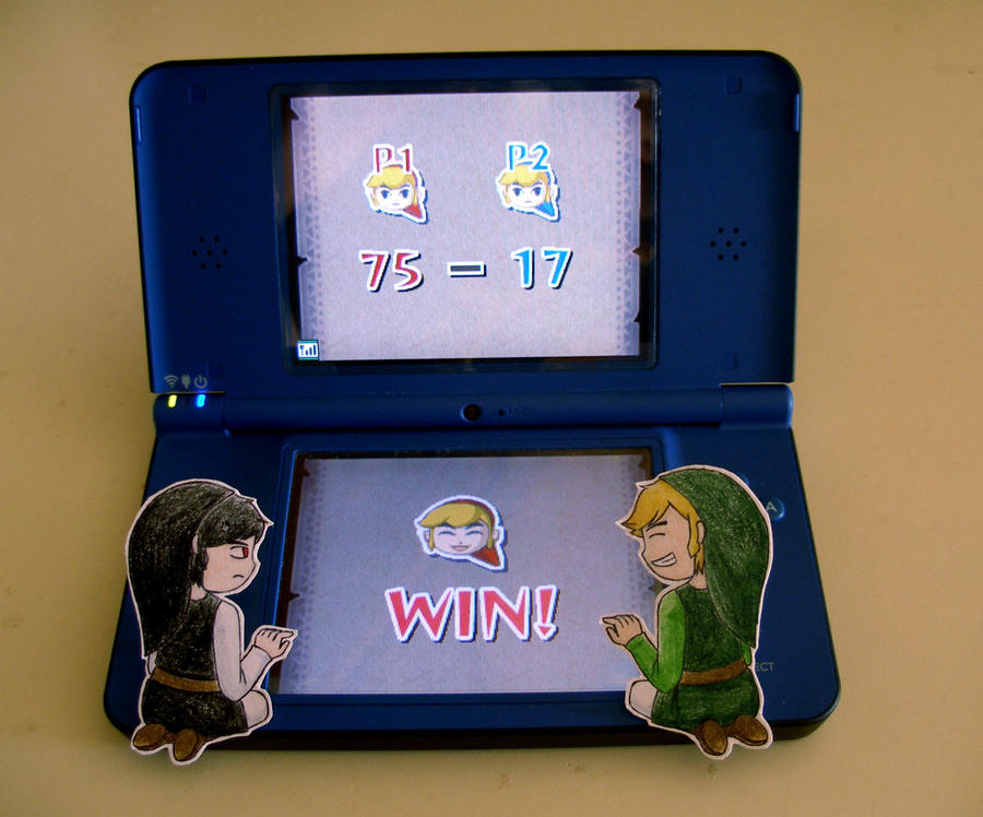 I WIN! by AuraGemi