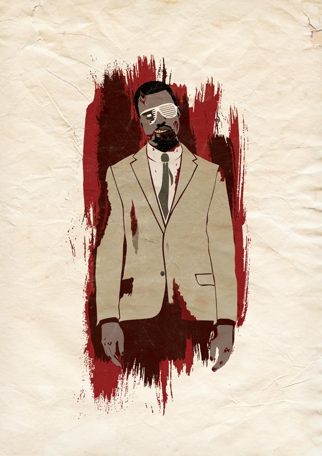 Kanye Undead by DanMazkin