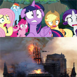The Beginning of the End for Notre Dame by MLPFAN3991