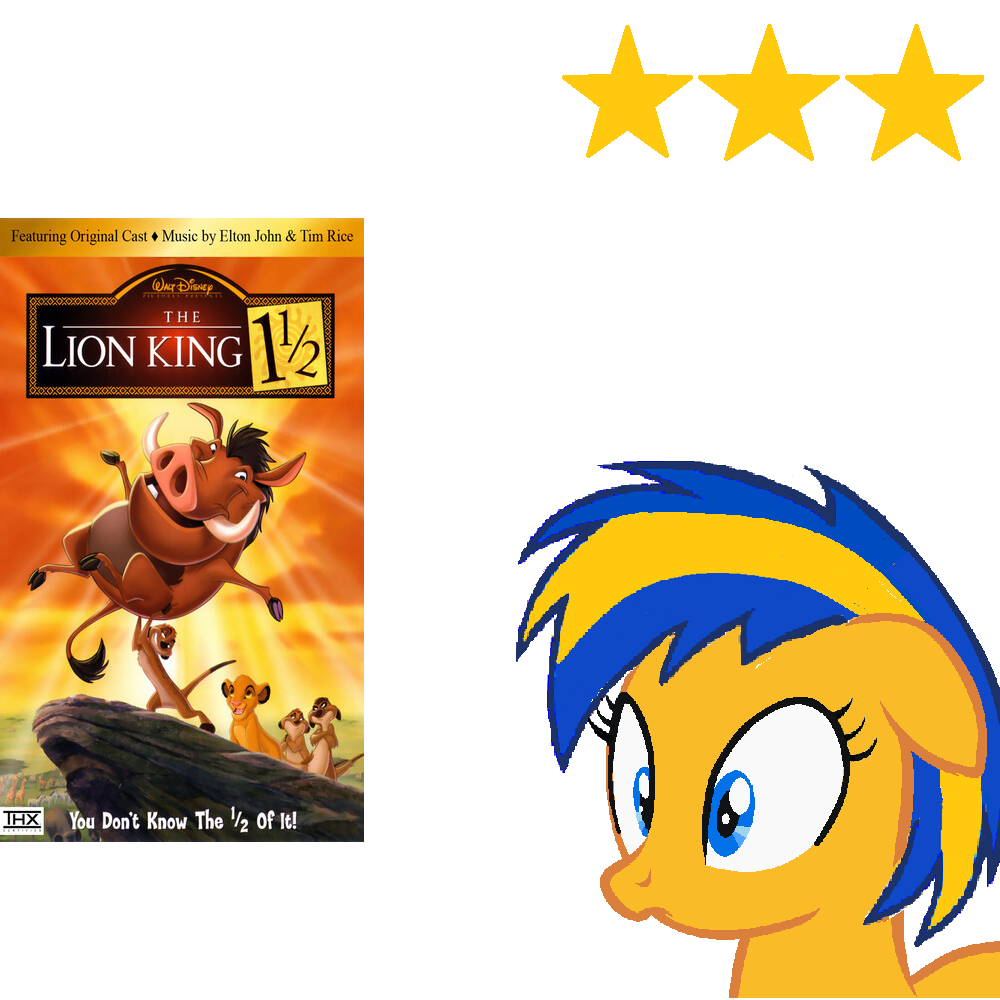 The Lion King 1 And A Half 2004 Review By Mlpfan3991 On Deviantart