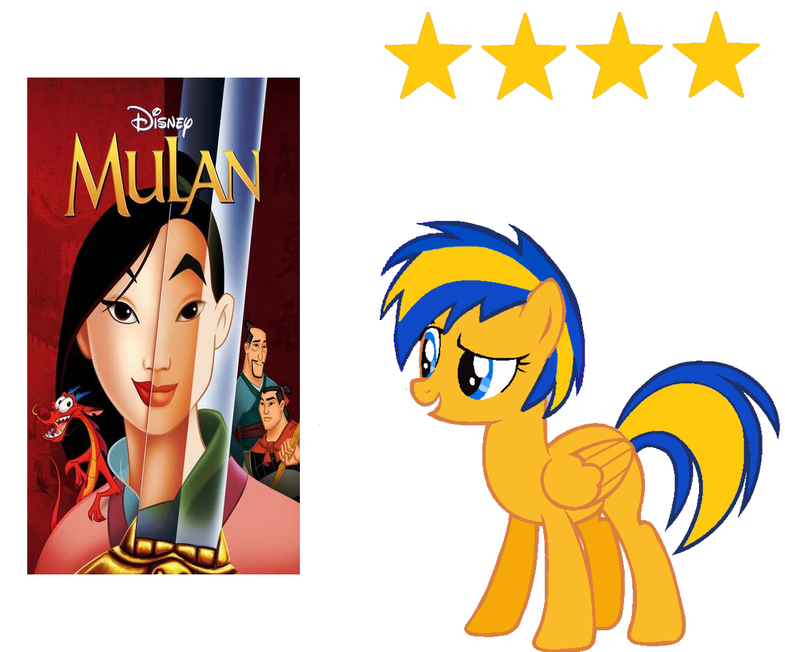 Mulan 1998 Review By Mlpfan3991 On Deviantart