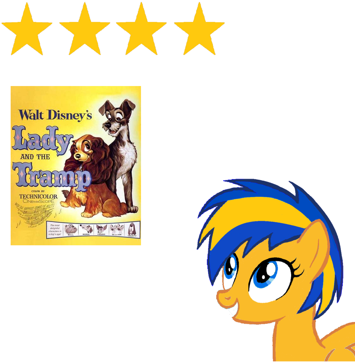 Lady And The Tramp 1955 Review By Mlpfan3991 On Deviantart