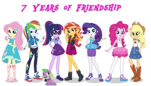7 Years of Equestria Girls