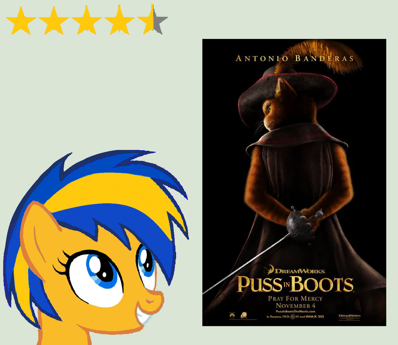 Puss In Boots 2011 Review By Mlpfan3991 On Deviantart