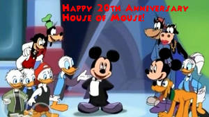 Happy 20th Anniversary 'House of Mouse'!